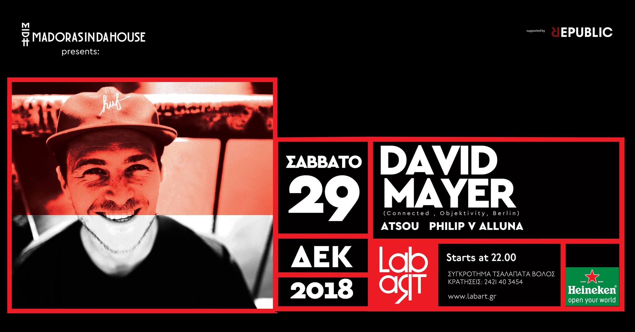LabArt x Madorasindahouse w/ David Mayer (Berlin)